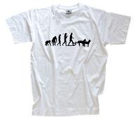 Standard Edition Schlittenhunde Hundeschlitten Evolution T-Shirt S-XXXL