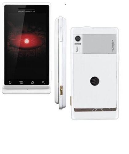 1 of 1 - Motorola Droid a855 - White (Verizon) Smartphone