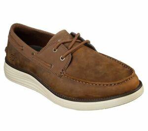 skechers mens dress shoes with memory foam