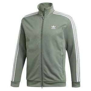 Details zu Adidas Original HERREN Spur Grün Beckenbauer Jacke Trefoil Retro Vintage Neu