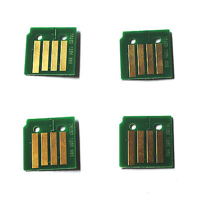 4 x Toner Chips For Xero WorkCentre 7120 7125 7220 7225 006R01461 ~ 006R01464