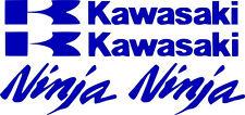 Kawasaki Decal monster BLUE Sticker Motorcycle ninja 250r 650 300 zx 636 1000