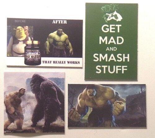 HULK get Mad Smash stuff shrek potion godzilla fight muscle character magnet