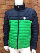 RALPH LAUREN RLX PACKABLE NAVY/GREEN FEATHER/DOWN FILLED JACKET RETAIL £215 XL