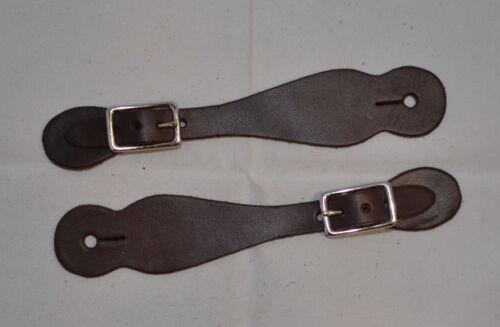 "Spur Strap Chocolate Harness D67 5//8/"" Kids"