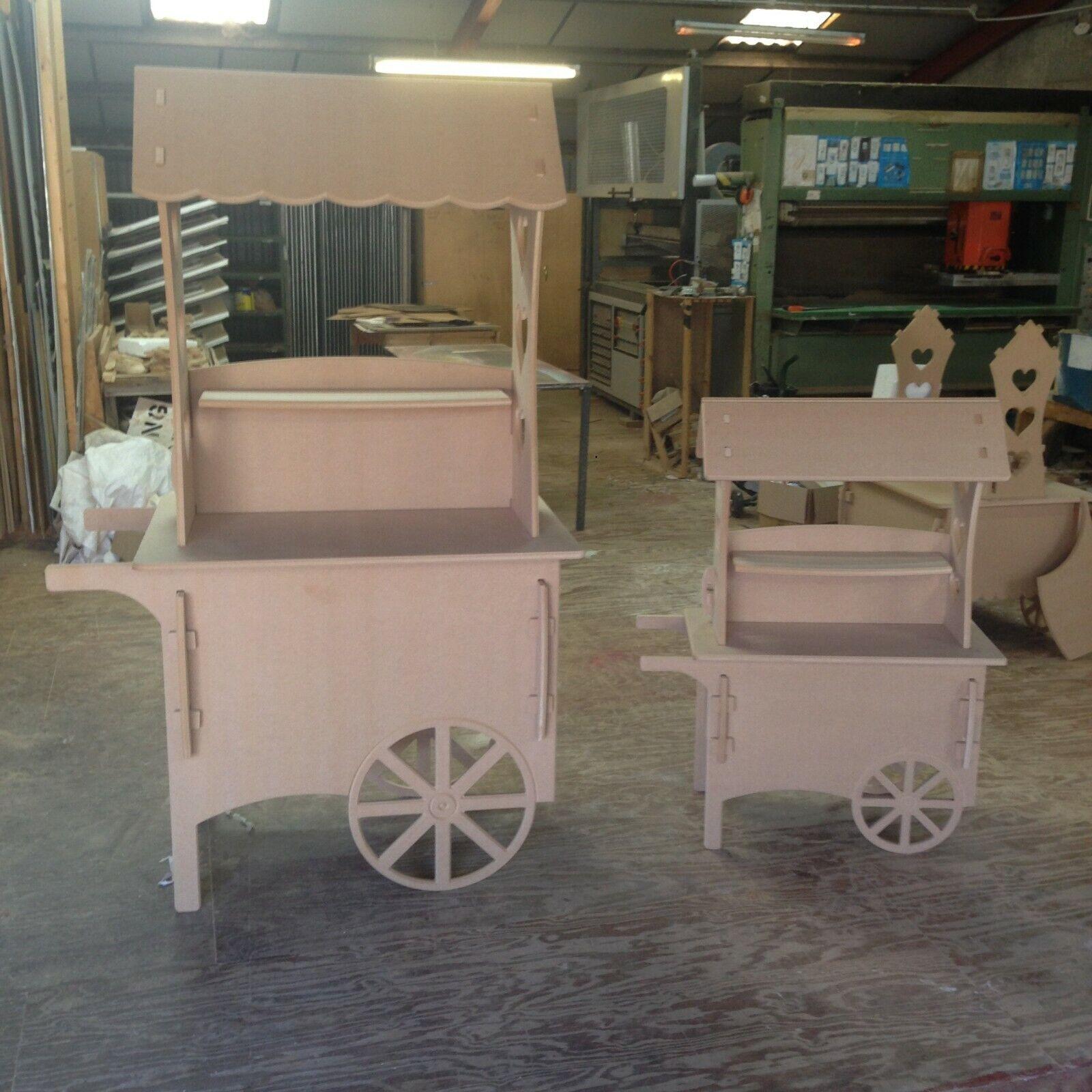 Large & Medium Candy Cart Sweet Wedding Cart Sweet Cart Christening Cart Party