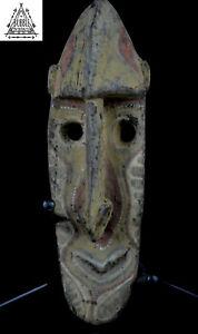 Stunning Kwoma Spirit Dance Yam Cult Mask, Upper Sepik, PNG, Papua New Guinea
