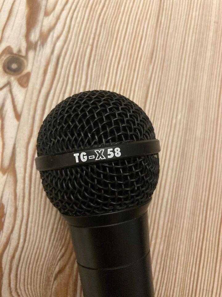 Mikrofon, Beyerdynamic TG-X58