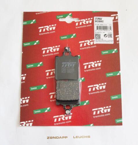 Zündapp Bremsbeläge 537-15.126 LUCAS MCB552 KS 80 Super Typ 537