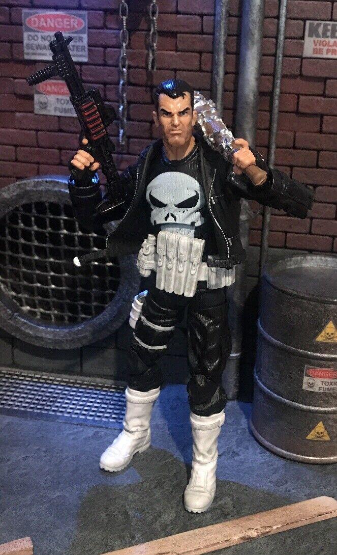 Custom Marvel Legends Punisher Frank Castle Lucille Bat Punkisher