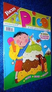 FOCUS-PICO-IL-MIO-PRIMO-FOCUS-N-30-FIABE-GIOCHI-FUMETTI-AGOSTO-2010-CARTOLINE