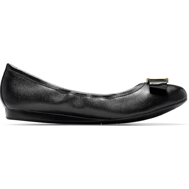 Cole Haan Womens Emory Bow Ballet Flat