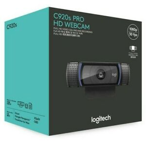 Logitech-Pro-C920s-Full-HD-Webcam-1080p-New-and-sealed-Fast-dispatch-from-EU
