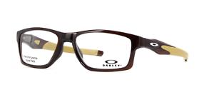 fc571eb0a0d Image is loading Authentic-OAKLEY-Crosslink-MNP-8090-04-Eyeglasses-Polished-