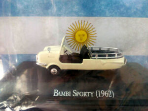 BAMBI-SPORTY-1962-Unforgettable-Cars-1-43-Diecast-88-SALVAT-ARGENTINA