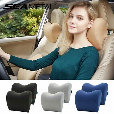 Autos Vehicle Travel Seats Headrest Memory Foam Cushtion Neck Rest Pad Universal