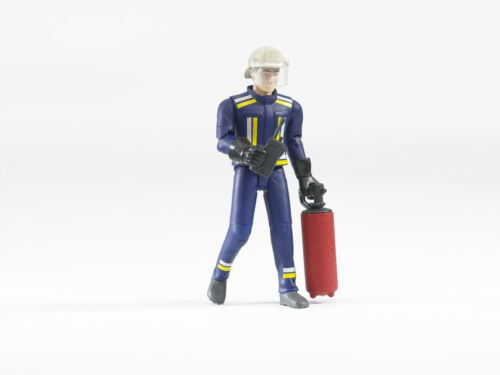 NEU /& OVP Paketversand DHL Bruder®  60100  Feuerwehrmann mit Zubehör