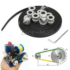 8Pcs-GT2-20T-Bore-8mm-Timing-Pulley-5m-Belt-Tensioner-For-RepRap-3D-Printer