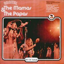 "THE MAMAS & THE PAPAS "" RECITAL "" LP SIGILLATO RB - CBS 1977 ITALY"