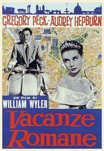 Vacanze romane poster film 70x100 ebay for Finestra 70x100