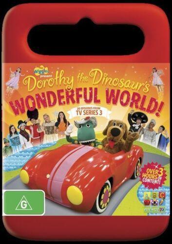 1 of 1 - Dorothy The Dinosaur's Wonderful World DVD The Wiggles Childrens ABC Kids Movie