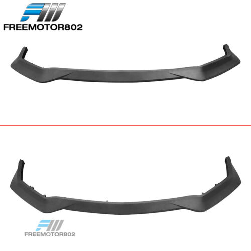 Fits 18-19 Ford Mustang GT R Spec Unpainted PP Front Bumper Lip Chin Spoiler