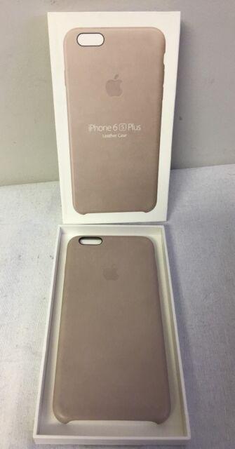 hot sale online 1e5b6 b3051 Apple iPhone 6 Plus/6s Plus OEM Leather Case - Rose Gray