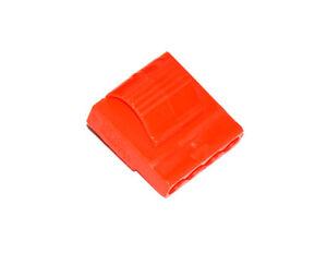 Netzteil/Lüfter 4-Pin Molex, Buchse, UV-aktiv rot