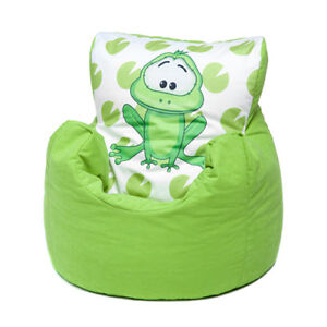 Surprising Details About Green Frog Childrens Character Filled Beanbag Kids Bean Bag Chair Bedroom Pabps2019 Chair Design Images Pabps2019Com
