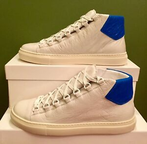 c96f795fd00d New Men s Balenciaga Arena High Top Sneakers   White   EU 42   US ...
