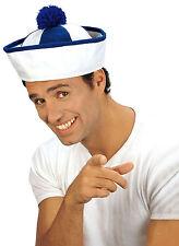 Matrosen Schiffchen blau-weiß-gestreift NEU - Karneval Fasching Hut Mütze Kopfbe