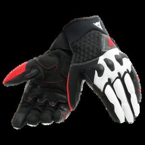 DAINESE-X-Moto-sportliche-Sommer-Handschuhe-schwarz-weiss-rot-Gr-L-9