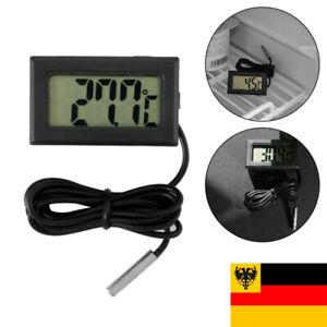 Digital LCD Kühlschrank Gefrierschrank Thermometer Temperaturanzeige Neu