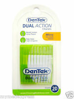 DenTek Dual Action Cleaner 20 count, 6 pack (047701001165) Personal Care