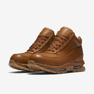 7a17e59ef3 brown and orange acg boots