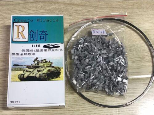 R Model #35171 1//35 Metal Track For IDF M50//M51 Super Sherman Tank