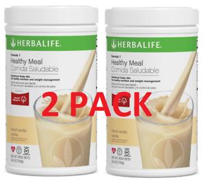Herbalife Formula 1 Healthy Meal Nutritional Shake Mix French Vanilla 750g 2pack Ebay