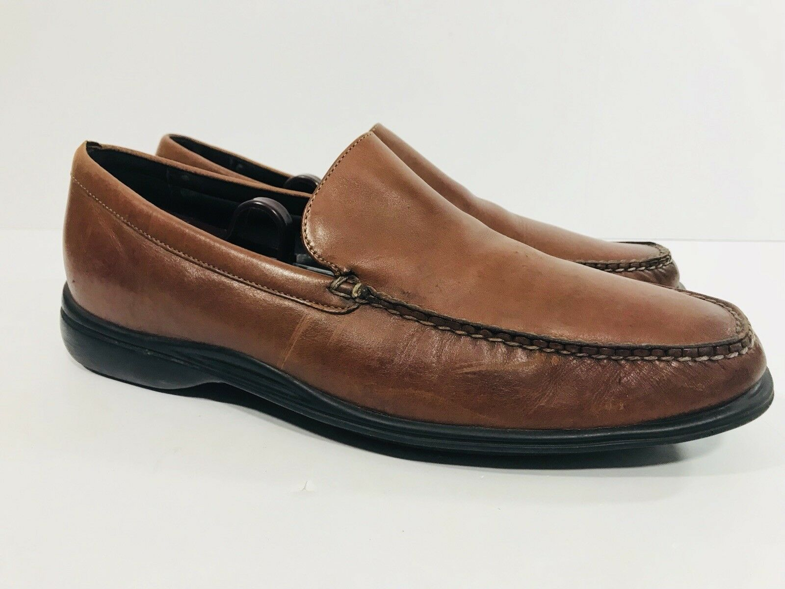 COLE HAAN AIR C08204  Herren Braun Braun Braun Leder Slip On Loafers Schuhes Größe US 10 M 169a9c