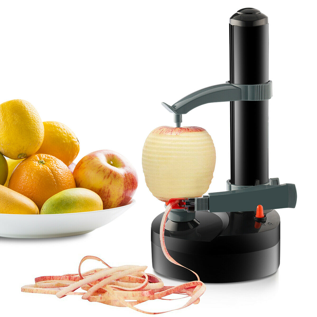 Electric 1kg Automatic Potato Peeler Cutter Machine 6 Blades Crystals