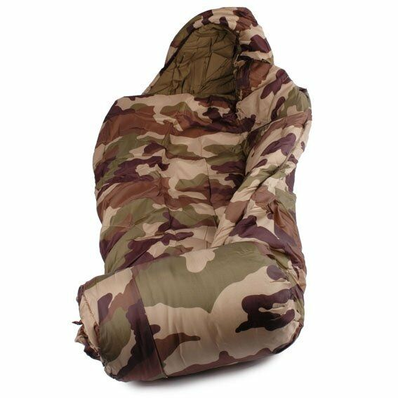 Sleeping Tasche down military camo -10 ° -20 ° extreme cold hiking survival