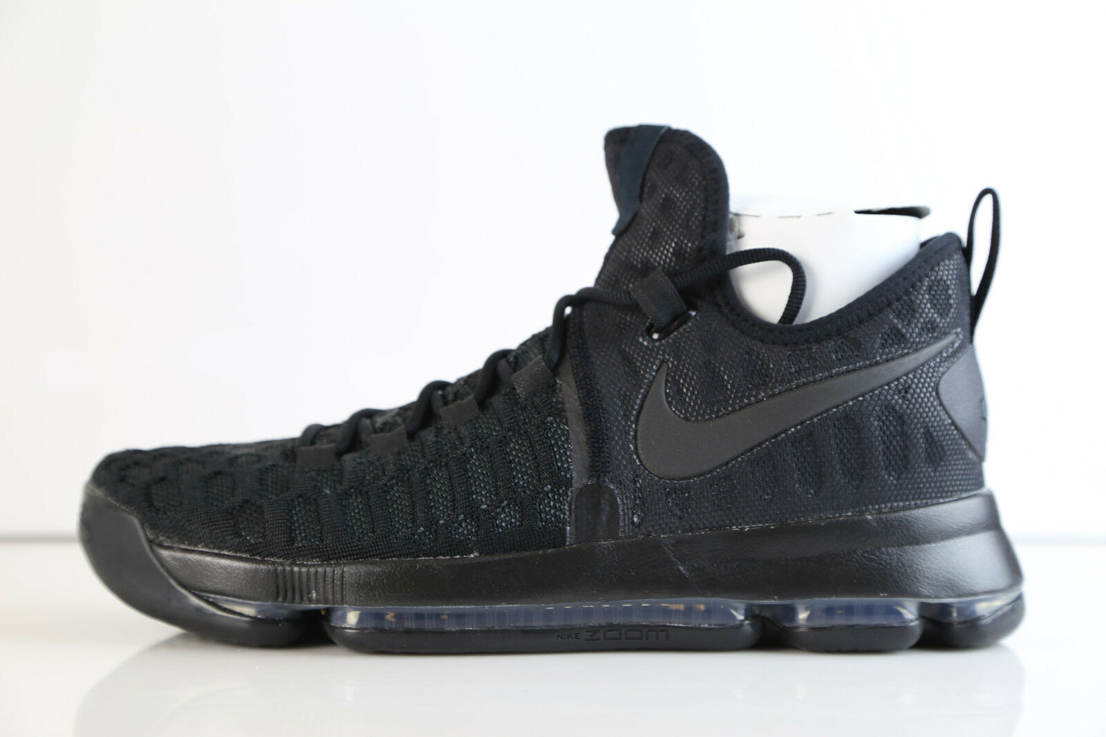 Nike Zoom KD 10 9 noir Anthracite 843392-001 10 KD 1 9 flyknit air 845112