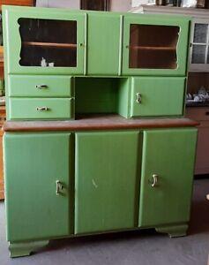 Antikes Küchenschrank Buffet 30er - 50er Jahren Vintage ...