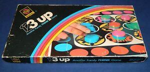 (1,2) 3 Trois Up Board Game (une Famille Pense Game) Par Airfix Games 1971 Complet-afficher Le Titre D'origine Style à La Mode;