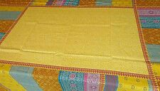 Bassetti Mantel Cortona V4 amarillo 140x170 Algodón Aspecto de lino emb.orig