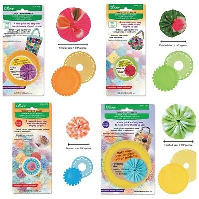 CLOVER Yo-Yo Maker - XLarge,Large, Small, XSmall Tool Available- CHOOSE SIZE