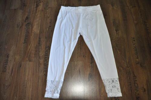 Look 50 3d Strati A Jersey Pizzo Bianco Nobile 54 Gr 3 52 Myo Leggings qd1gPwpgx