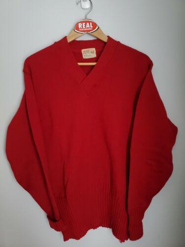 Vintage 50s 70s Coane Wool Varsity Sweater Men's X