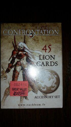 Rackham: Confromtation Miniatures - DECK OF 45 LION CARDS