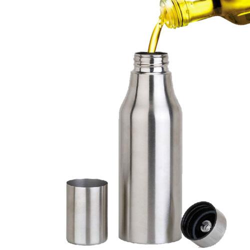 Leer edelstahl Ölflasche 500ml 1000ml Essigflasche  für Öl Olivenöl