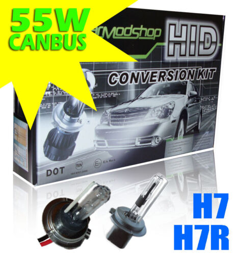 Fits Vauxhall Opel Adam 2012-Onwards H7 H7R Xenon HID Conversion Kit 55W Canbu
